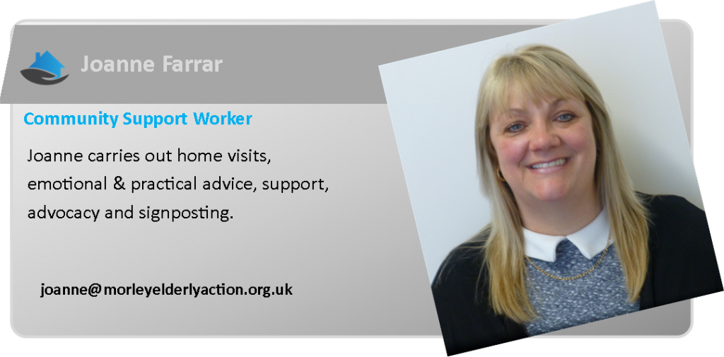 Joanne Farrar - Support Worker